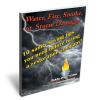Water, Fire, Smoke or Storm Damage, 10 sanity-saving tips you need before hiring a restoration company. Can-Restore Corporation book.