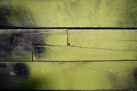 Burnt yellow wood.